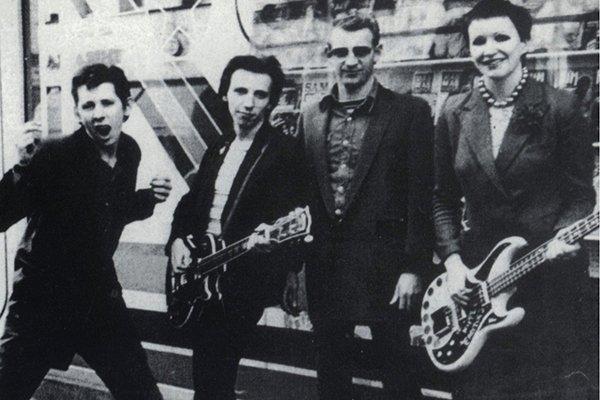 Первый шаги на панк-сцены Британии (фото)