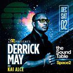 Биография Derrick May - электронная музыка Detroit Techno (фото)