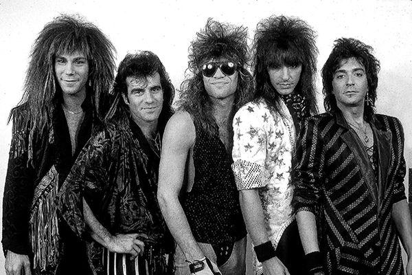 Появление Glam Metal - смена культурных ориентиров (80-е) (фото)