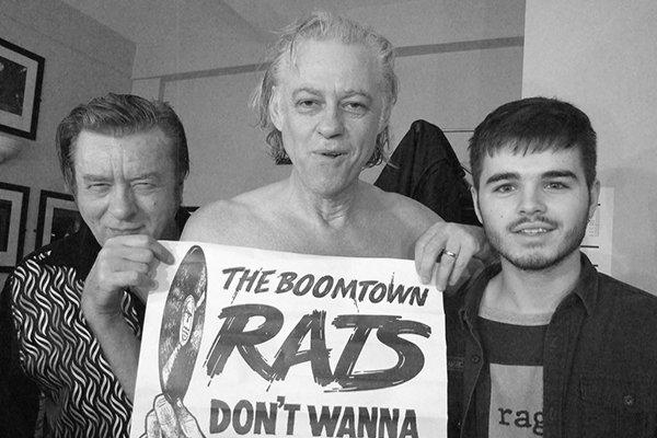 Современное творчество группы The Boomtown Rats (фото)