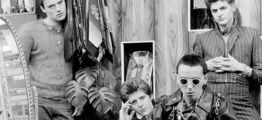 Биография The Drones - панк-рок-группа Пола Морли из Манчестера