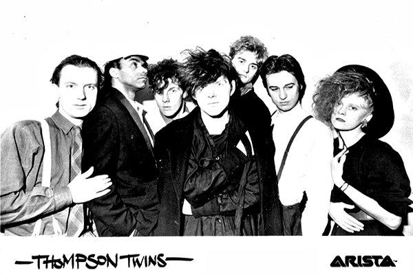 Коммерческий успех Thompson Twins (фото)