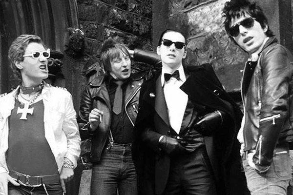 Середина 80-х и активность The Damned (фото)
