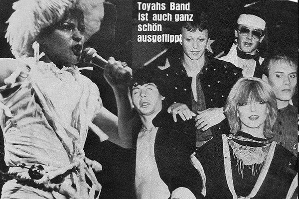 Студия звукозаписи и дальнейшее продвижение Toyah (фото)