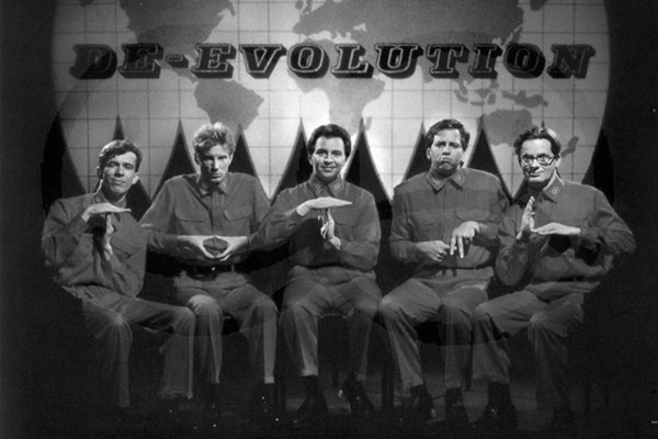 Devo в 90-х распад и реформирование (фото)