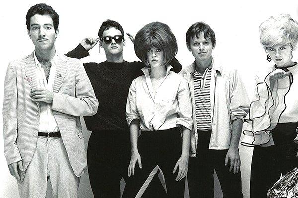 Начальные альбомы The B-52's (фото)