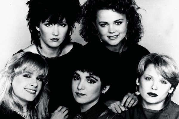 Пик популярности и полноценные альбомы The Go-Go's (фото)
