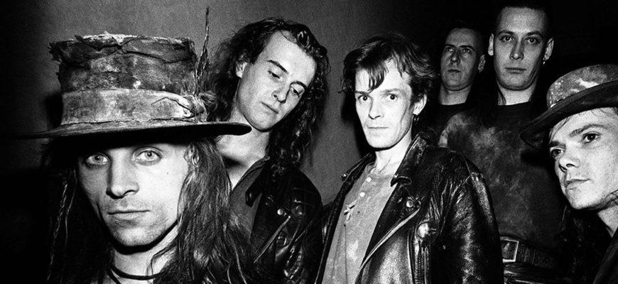 Биография Fields of the Nephilim - готик-рок из Англии