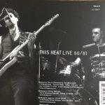 Биография This Heat: экспериментальный рок-проект из Англии