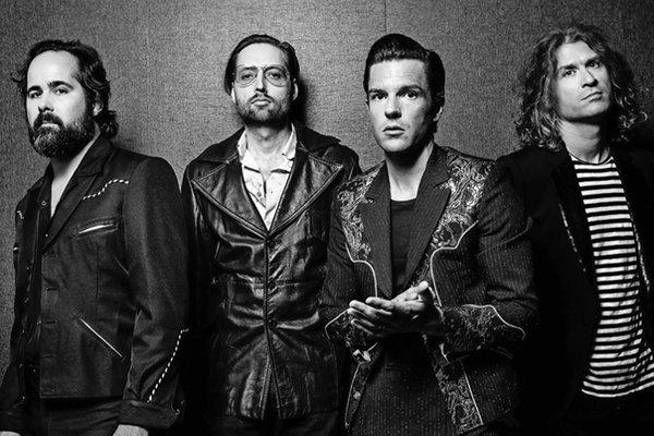 Формирование и начальные шаги The Killers (фото)
