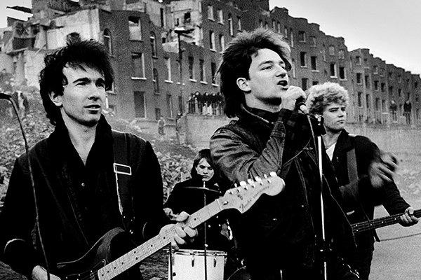 Первый международный сингл и альбом от U2 (фото)