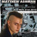 Биография Мэттью Эшмана (Matthew Ashman) - гитарист из Англии (фото)